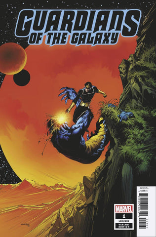 GUARDIANS OF THE GALAXY #1 WRIGHTSON HIDDEN GEM VAR