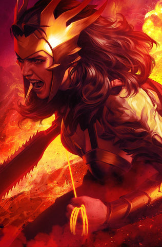 DARK NIGHTS DEATH METAL #1 (OF 6) ARTGERM WONDER WOMAN V