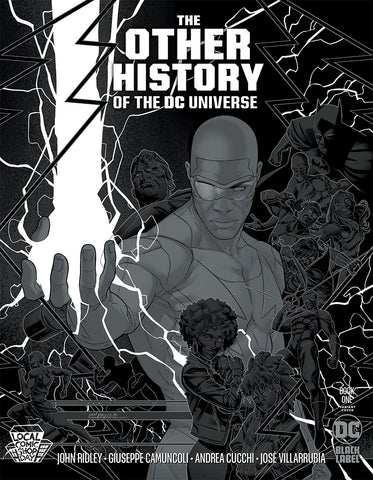 LCSD OTHER HISTORY OF THE DC UNIVERSE #1 (OF 5) JAMAL CAMPBELL SILVER METALLIC INK VAR