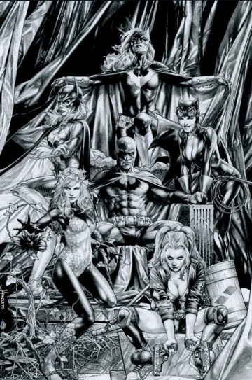 DETECTIVE COMICS #1000 UNKNOWN JAY ANACLETO REMARK EXCLUSIVE