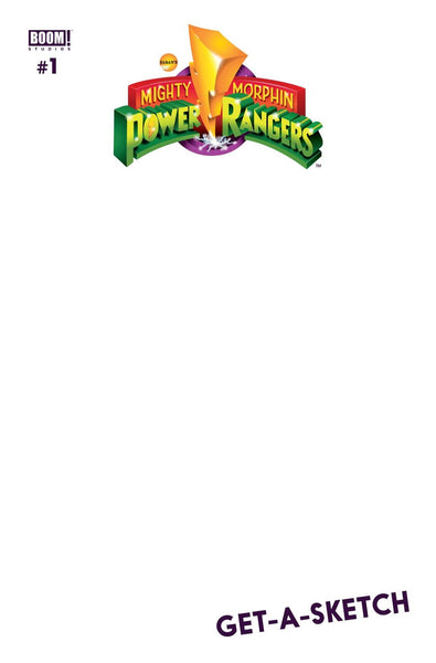 MIGHTY MORPHIN POWER RANGERS #1 BLANK VAR