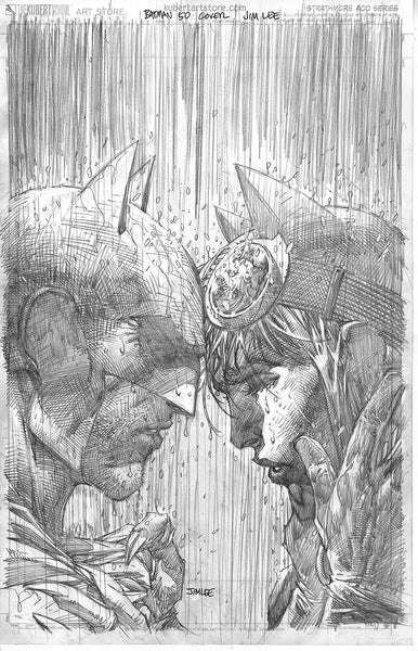 BATMAN #50 JIM LEE PENCILS VAR ED