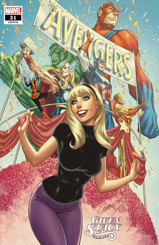 AVENGERS #31 J SCOTT CAMPBELL GWEN STACY VAR