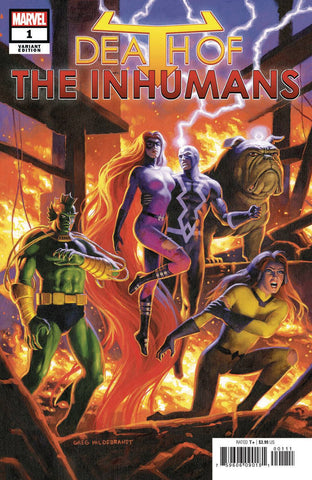 DEATH OF INHUMANS #1 (OF 5) HILDEBRANDT VAR