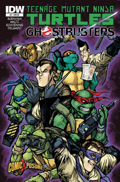 Teenage Mutant Ninja Turtles GhostBusters #2 ComicXposure Exclusive Variant