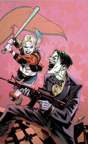 BATMAN PRELUDE TO THE WEDDING HARLEY VS JOKER #1