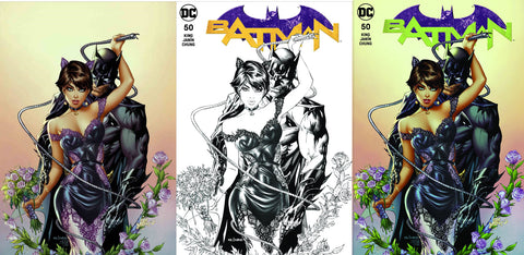 BATMAN #50 ERIC BASALUDA 3 PACK EXCLUSIVE