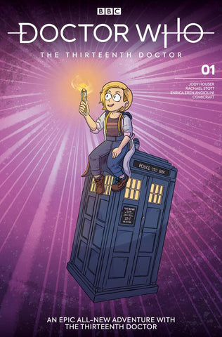 DOCTOR WHO 13TH #1 CVR G GRALEY