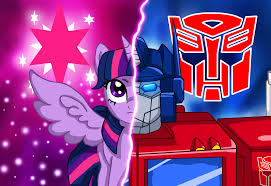 MY LITTLE PONY TRANSFORMERS FOUR PACK