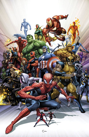 MARVEL COMICS #1000 CRAIN VAR