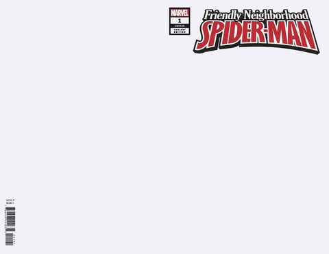 FRIENDLY NEIGHBORHOOD SPIDER-MAN #1 BLANK VAR