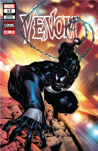 VENOM #12 UNKNOWN C2E2 TAN EXCLUSIVE