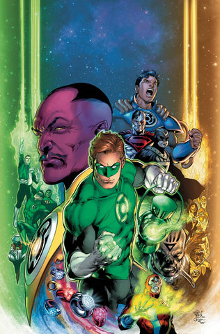 GREEN LANTERN 80TH ANNIV 100 PAGE SUPER SPECT #1 2000S VAR E