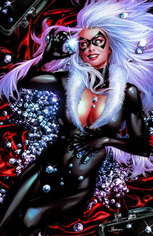 BLACK CAT #1 JAY ANACLETO UNKNOWN EXCLUSIVE VIRGIN COVER