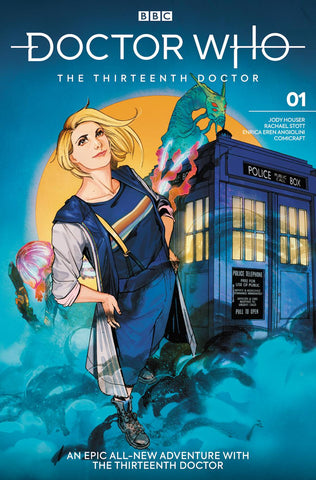 DOCTOR WHO 13TH #1 CVR H KRISTANTINA & KHOLINNE