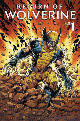 RETURN OF WOLVERINE #1 DF SOULE SGN