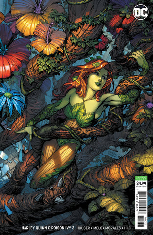 HARLEY QUINN & POISON IVY #3 (OF 6) CARD STOCK IVY VAR ED