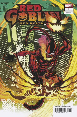 RED GOBLIN RED DEATH #1 LUBERA VAR