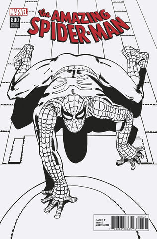 AMAZING SPIDER-MAN #800 REMASTERED B&W VAR