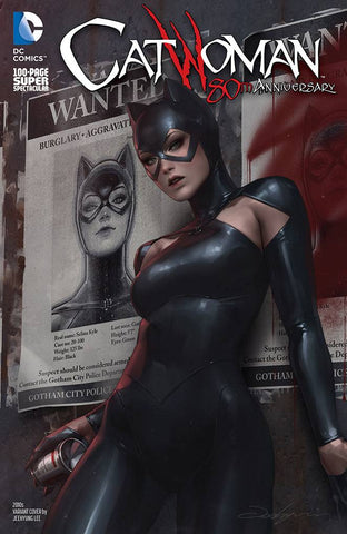 CATWOMAN 80TH ANNIV 100 PAGE SUPER SPECT #1 2010S JEEHYUNG LEE