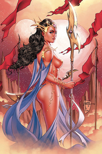 DEJAH THORIS (2019) #1 TUCCI LTD VIRGIN CVR