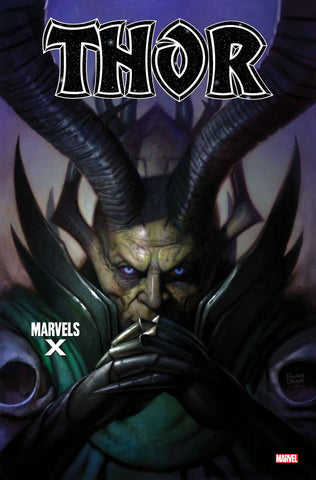 THOR #1 BROWN MARVELS X VAR