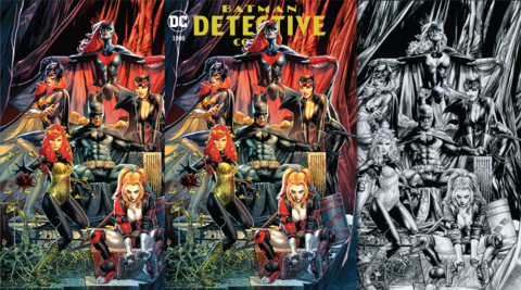 DETECTIVE COMICS #1000 UNKNOWN JAY ANACLETO 3 PACK EXCLUSIVE