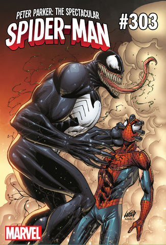 PETER PARKER SPECTACULAR SPIDER-MAN #303 VENOM 30TH VAR LEG