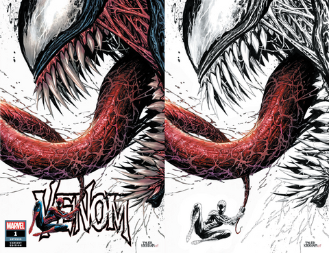 VENOM #1 UNKNOWN TYLER KIRKHAM 2 PACK EXCLUSIVE