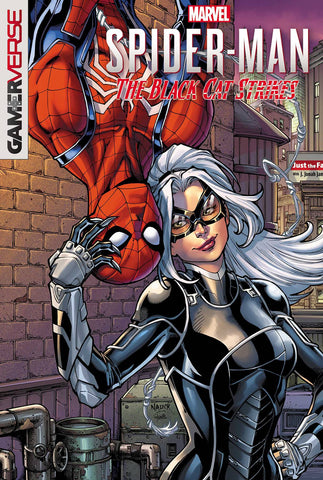 MARVELS SPIDER-MAN BLACK CAT STRIKES #1 (OF 5) NAUCK VAR