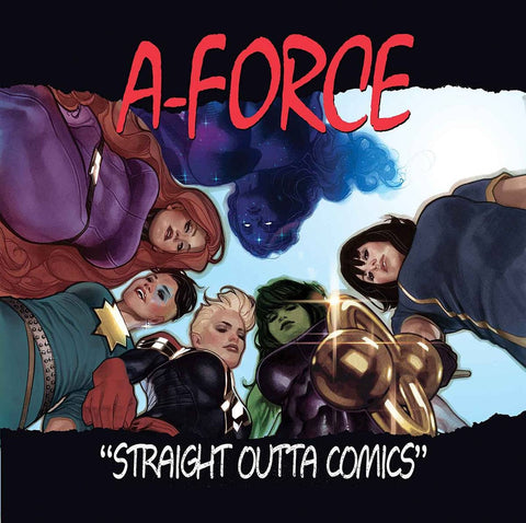 A-FORCE #1 HUGHES HIP HOP VAR