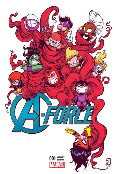 A-FORCE #1 YOUNG VARIANT