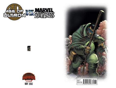 AGE OF ULTRON VS MARVEL ZOMBIES #1 ANT SIZED