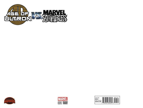 AGE OF ULTRON VS MARVEL ZOMBIES #1 BLANK