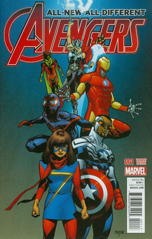 ALL NEW ALL DIFFERENT AVENGERS #1 ASRAR VAR