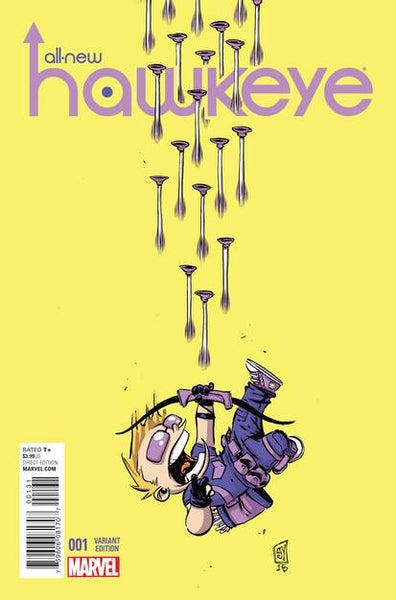 ALL NEW HAWKEYE #1 YOUNG VAR