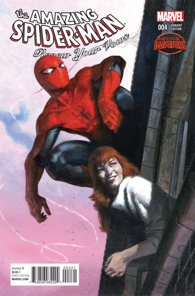 AMAZING SPIDER-MAN RENEW YOUR VOWS #4 DELLOTTO VAR