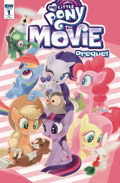 MY LITTLE PONY MOVIE PREQUEL #1 10 COPY INCV