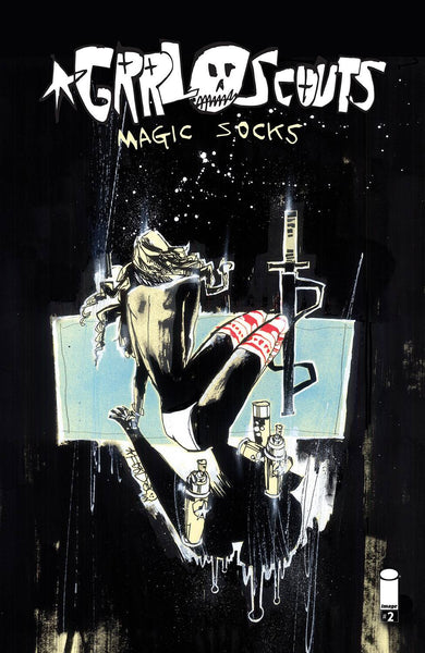GRRL SCOUTS MAGIC SOCKS #2 (OF 6) CVR A MAHFOOD