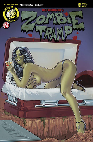 ZOMBIE TRAMP ONGOING #36 CVR E HERMAN