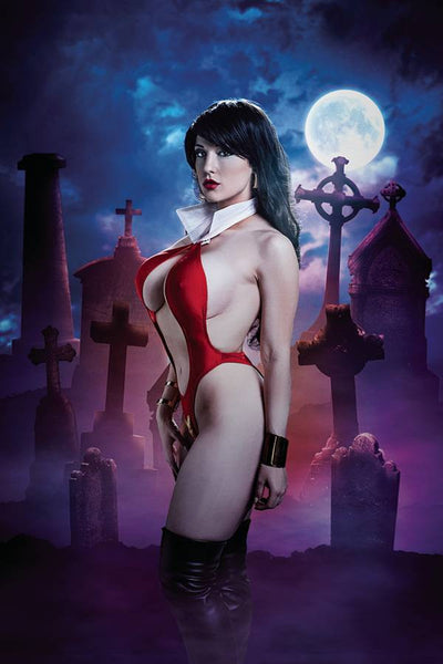 VAMPIRELLA #4 CVR E 10 COPY COSPLAY VIRGIN INCV