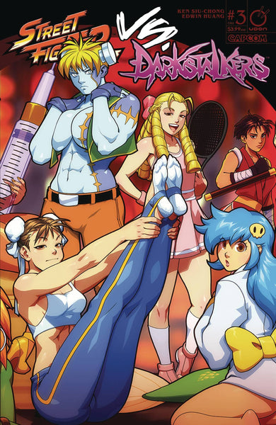 STREET FIGHTER VS DARKSTALKERS #3 (OF 8) CVR B PORTER