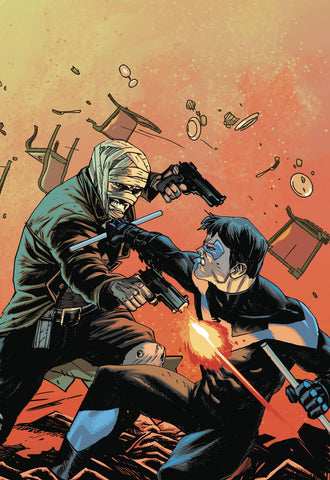 BATMAN PRELUDE TO THE WEDDING NIGHTWING VS HUSH #1
