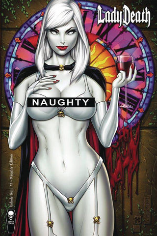 LADY DEATH UNHOLY RUIN #2 NAUGHTY ED (MR)