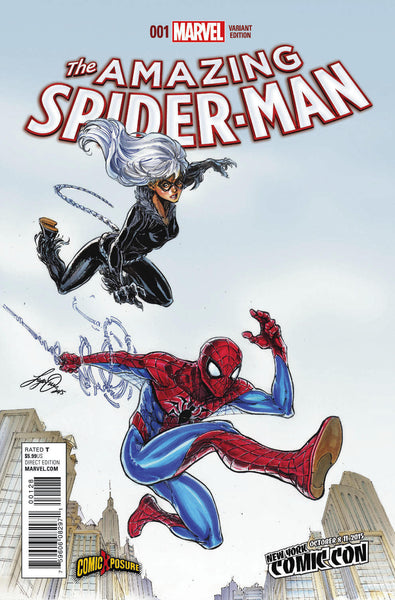 AMAZING SPIDER-MAN #1 NYCC COMICXPOSURE EXCLUSIVE