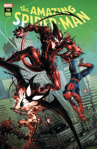 AMAZING SPIDER-MAN #796 LEG COMICXPOSURE CLAYTON CRAIN