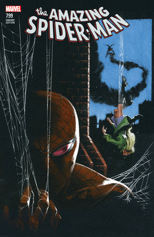 AMAZING SPIDER-MAN #799 LEG COMICXPOSURE DELLOTTO EXCLUSIVE
