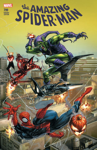 AMAZING SPIDER-MAN #799 LEG COMICXPOSURE CLAYTON CRAIN