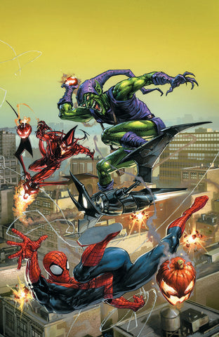 AMAZING SPIDER-MAN #799 LEG COMICXPOSURE CLAYTON CRAIN VIRGIN