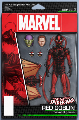 AMAZING SPIDER-MAN #799 LEG COMICXPOSURE JTC ACTION FIGURE VARIANT